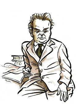 "Drawing ""Cyril Connolly"""
