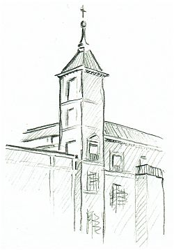 Sketch from nature: Córdoba, Episcopal Palace