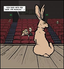 "Cartoon ""Hare: The Musical"""