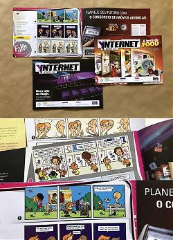 Photo: Copies of a Brazilian magazine featuring Kopozky comic strips