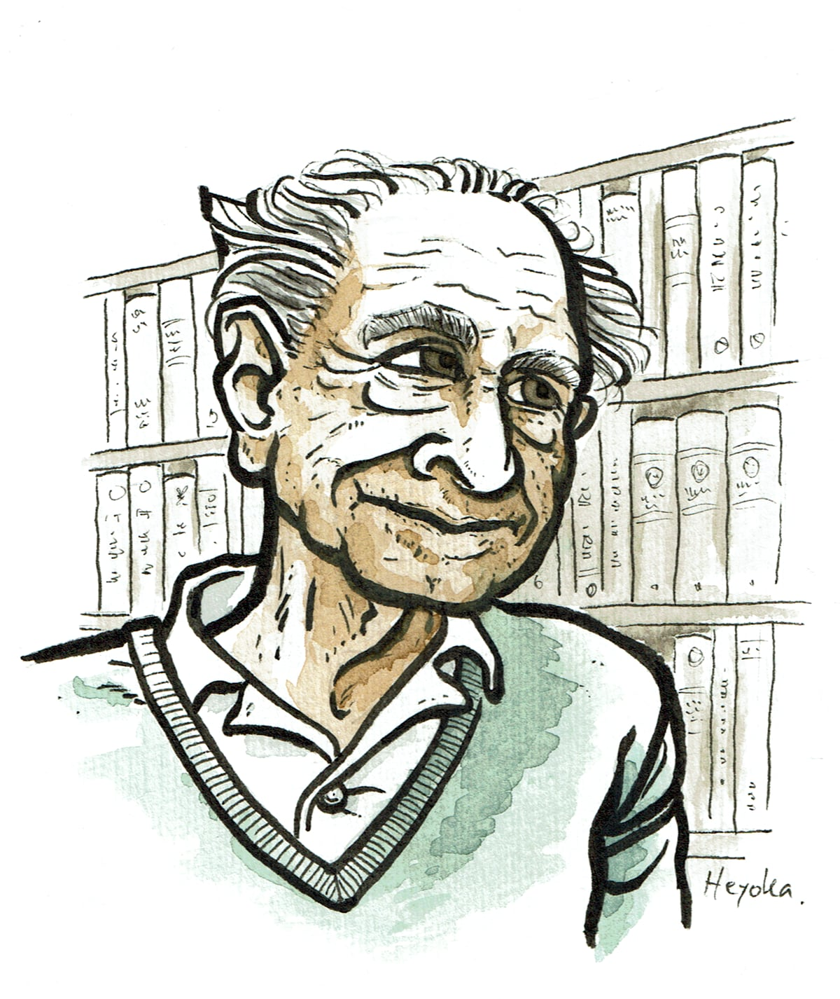 "Drawing: ""Karl Popper"""