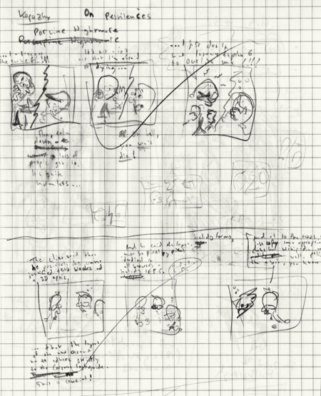 Sketches for kopozky.net