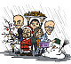 "Drawing ""Office Mates – Christmas 2013"""